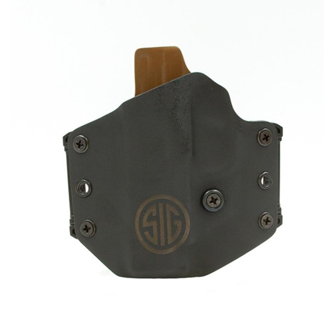 On Duty Conceal RH LH OWB Leather Gun Holster For Kahr CM MK PM 9 40 45
