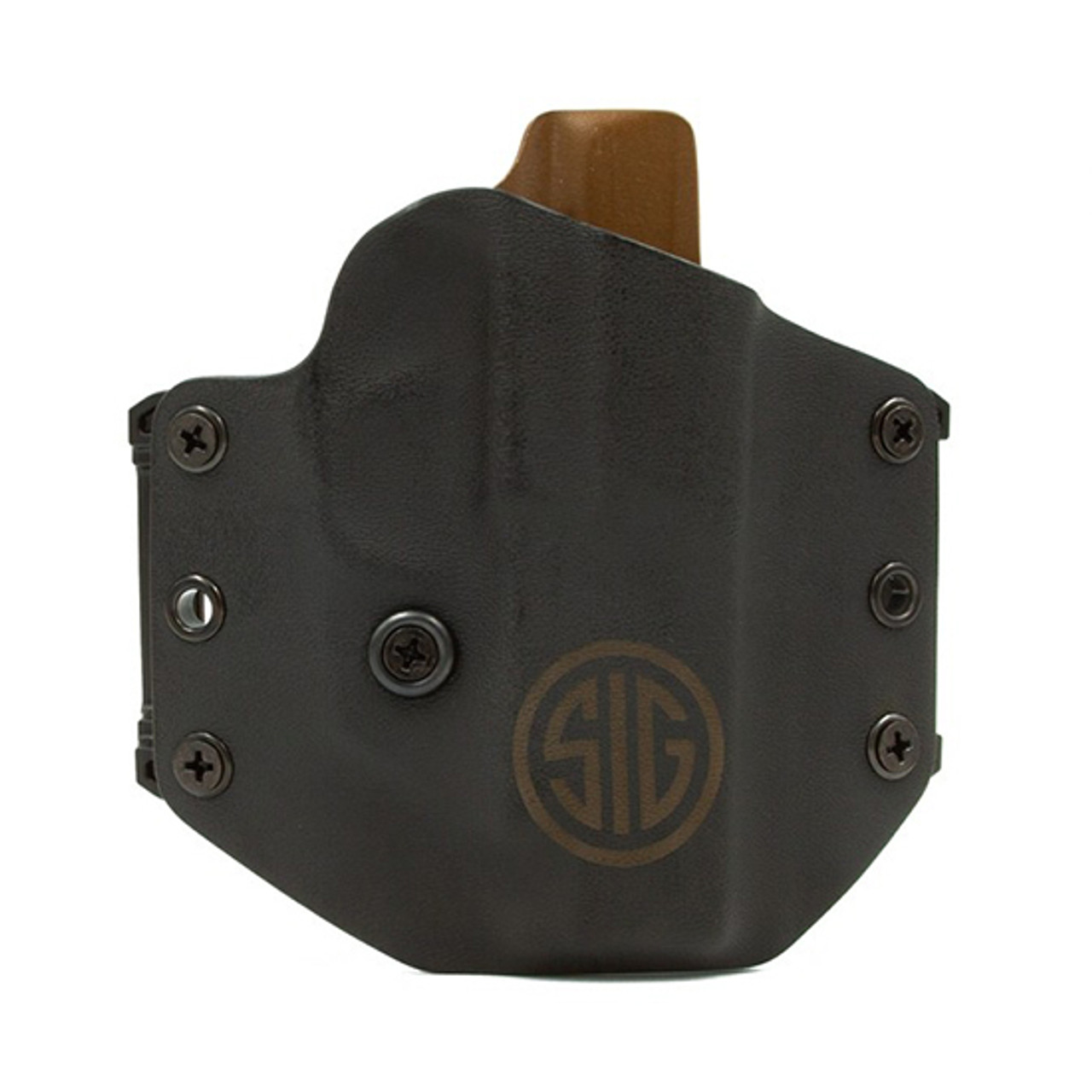 HD Concealed RH LH OWB IWB Leather Gun Holster For Ruger LC9 w// Lasermax