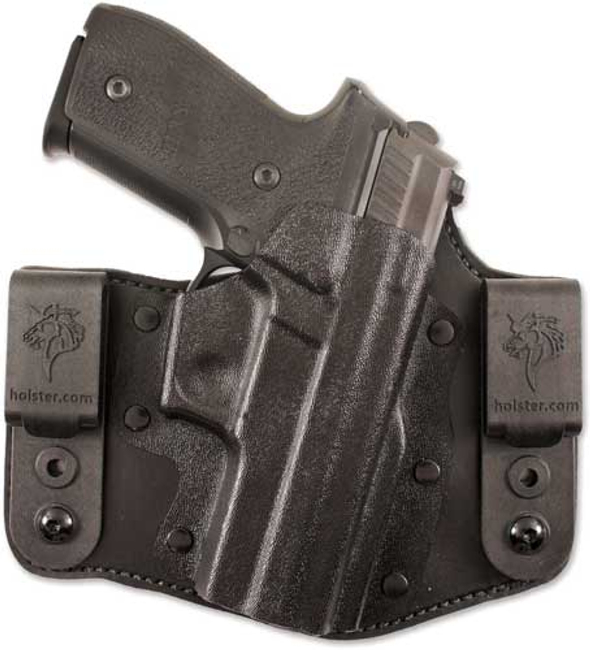 IWB HOLSTER BLACK CARBON FIBER KYDEX FITS SMITH /& WESSON S/&W SW22 Victory