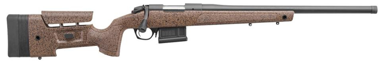 Bergara B-14 HMR 6.5 Creedmoor 22in Cañon Marrón Stock 5rd