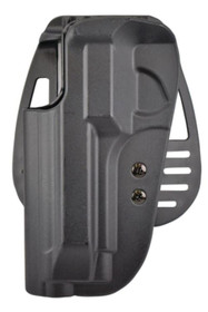 Uncle Mike's Kydex Paddle Holster 20, Beretta 92/96 Most, Black Kydex, Left Hand