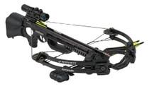 Barnett Ghost 410 CRT 410 Crossbow Combo, 3x32mm Scope, Black