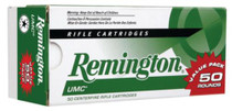 Remington UMC .223 Remington 55 Grain Metal Case 50rd/Box