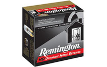 Remington Ultimate Home Defense .38 Special + P 125gr Brass Jacketed Hollow Point 20rd Box