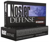 Nosler Defense Bonded .308 Winchester 168 Grain Bonded Solid 20rd/Box
