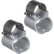 Weaver Mounts 2-Piece Base/Rings For Ruger 10-22 See Thru Style Stainless