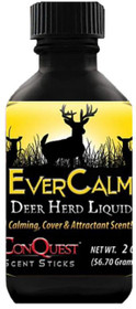 Conquest Scents Ever Calm Scent Liquid Deer Herd Bottle 2.5 oz