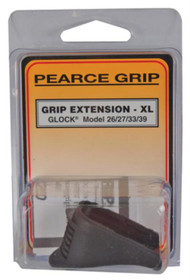 Pearce Grip Grip Extension Glock Models 26/27/33/39 Adds 1 Inch