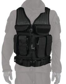 Blackhawk Omega Elite Tactical Vest With Heavy Duty Drag Handle Black