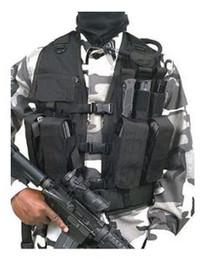 Blackhawk Urban Tactical Vest Urban Assault Black Adjustable Nylon