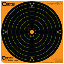 "Battenfeld Technologies Caldwell Orange Peel Flake Off Bullseye Targets 16"" 10 Per Package"