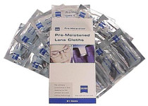Zeiss Lens Cleaning Wipes Small Pre-Moistened 60Pk