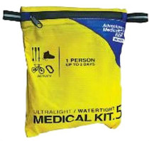 Adventure Medical Kits Ultralight/Watertight .5 Medical Kit 1 Person 1-