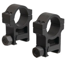 Trijicon AccuPoint Extra-High Aluminum Rings Hard Coat Black One Inch