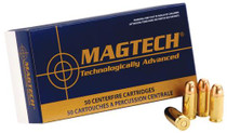 Magtech Sport Shooting .40 SW 165gr, Full Metal Case 50rd/Box 20 Box/Case