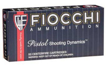 Fiocchi .44 Remington Magnum, 240 Gr, Jacketed Soft Point, 50rd/Box