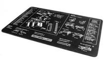 Glock Glock Gun Cleaning Armorers Bench Mat With Parts Imprint