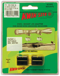 Kwik-Site .22 Adapter For Grooved Receiver Matte