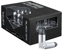 HPR Ammunition HyperClean Black Ops 9mm +P 115 Tac-XP Jacketed Hollow Point