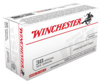 Winchester USA 38 Special Jacketed Soft Point 125gr, 50rd Box