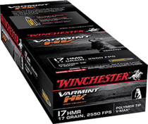 Winchester Varmint HV .17 HMR 17gr, V-Max, 50rd Box