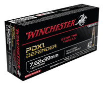 Winchester PDX1 Defender 7.62x39mm 120gr, Personal Defense 20rd Box