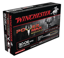 Winchester Power-Max .30-06 Springfield 180 Grain Protected Hollow Point Bonded 20rd Box