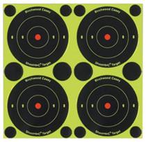 "Birchwood Casey Shoot-N-C Targets 3"" Round Bullseye, 240 Targets"