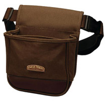 Uncle Mike's Deluxe Canvas Shell Pouch Brown
