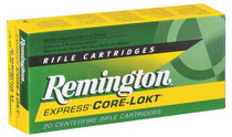 Remington Core-Lokt 270 Winchester 100GR Pointed Soft Point 20rd Box