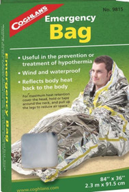 "Coghlans Emergency Bag, 84"" x 36"""