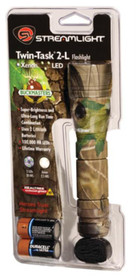 Streamlight Buckmasters Camo Twin-Task 2L, Lithium Batteries, Camo