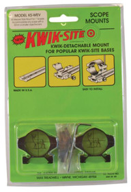 "Kwik-Site Weaver Style Up to 32 MM Objective Lens 1"" 1"" Diameter Black"