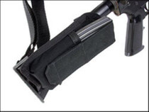 Blackhawk Buttstock Mag Pouch, Adjustable Lid, Black