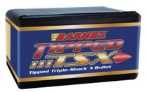 Barnes Triple-Shock X-Bullets Tipped Lead Free .30 Caliber .308 Diameter 180 Grain 1:11 Inch Twist Or Faster Recommended Boattail