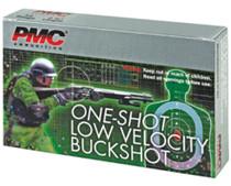 "PMC 12 Ga, 2.75"", Buckshot, 28 Pellet, Low Velocity, 5rd/Box"