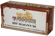Fiocchi Cowboy Action .357 Magnum 158gr, Lead Flat Point, 50rd/Box