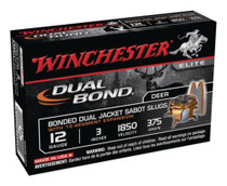 Winchester Dual Bond Fully Rifled Slug 12 Gauge 3 Inch 1850 FPS 375 Grain
