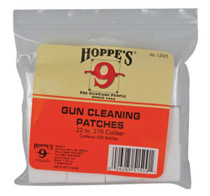 Hoppe's Gun Cleaning Patches .22-.270 Caliber Bulk 500 Pack
