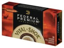 Federal Vital-Shok .338 Winchester Magnum 200 Grain Trophy Bonded Bear Claw 20rd/Box