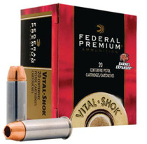 Federal Premium 44 Remington Magnum Lead Flat Nose 300gr, 20Box