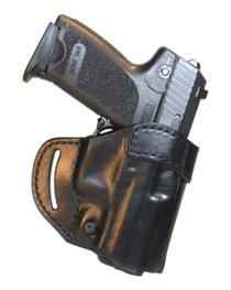 Blackhawk CQC Leather Compact Askins Black Right Hand For Smith & Wesson J Frame