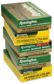 Remington Core-Lokt 300 Rem Short Action Ultra Mag, Core-Lokt PSP, 165gr, 20rd/Box