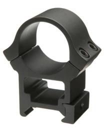"B-Square Rings Standard Dovetail Sport Utility High, 1"" Diameter, Black"