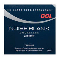 CCI Blank Paper Blank 22 Short 100rd/Box - Not Ammo, These Are Blanks
