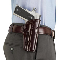Galco Concealed Carry 202B Fits Belt Width 1 - 1.75 Black Leather