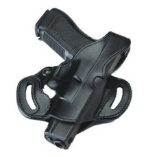 Galco COP Slide 224B Fits Belts up to 1.75 Black Leather