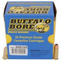 Buffalo Bore Short Barrel Low Flash, .38 Special, 125 Gr, JHP, 20rd/Box