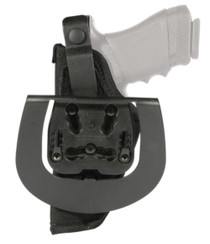 "Blackhawk Paddle Holster Black Right Hand For 2-3"" Barrel Small/Medium Double Action Revolvers Except 2"" 5-Shot"