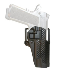 Blackhawk CQC Carbon Fiber Serpa Active Retention Holster Textured Black Right Hand For Taurus 24/7